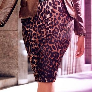 Lane Bryant leopard 🐆 pencil skirt size 16
